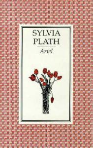 Book cover of Ariel, featuring a vase of flowers