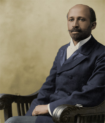 Image result for web dubois in color