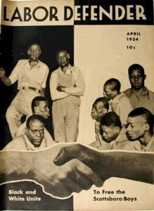 Labor Defender: Scottsboro Boys