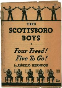 Angelo Herndon on Scottboro Boys. Herndon, formerly a political prisoner and an African American communist, wrote about the Scottsboro boys in 1937 for Workers Library.