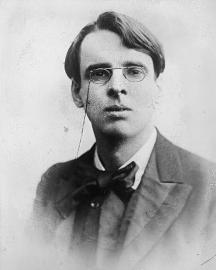 Young W. B. Yeats portrait