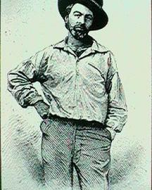 Whitman Standing Portrait