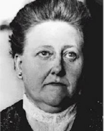 Amy Lowell Portrait
